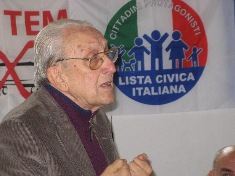 Imposimato a Roma all'incontro aperto di LCI