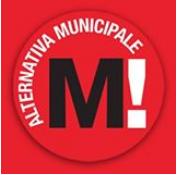 Simbolo di Alternativa Municipale che si candida alle elezioni del 5 giugno a Milano