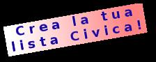 Creare una lista Civica